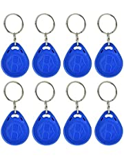 Sleutelhanger Ring Token, RFID EM-ID-kaart Keyfob NFC Sleutelhanger ID-kaart RFID Keyfobs RFID Tag Sleutel, voor Toegangscontrole Thuis(IC card)