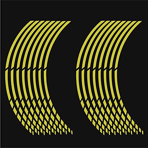 Sticker Mimo Adhesivos para llantas de moto o coche de 15 a 19 pulgadas (38 a 48 cm)