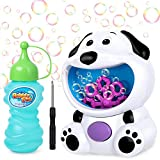 joylink Seifenblasenmaschine Spielzeug, Süßer Hund Automatische Seifenblasen Maschine mit Seifenblasenflüssigkeit, 500 Blasen pro Minute Luftblasen Maschine für Kinder Outdoor Indoor