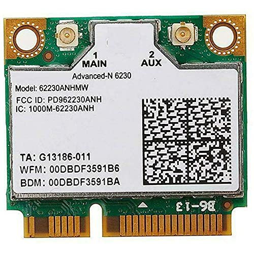 langchen Dual Band 6230 62230ANHMW 300M WiFi BT Bluetooth Wireless Mini PCI-E Card Adapter