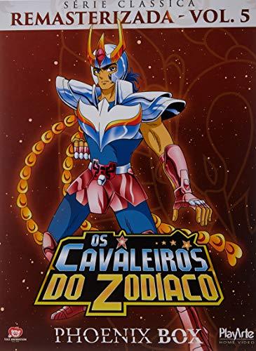 Cavaleiros do Zodíaco DVD 3 Discos/ 15 Episódios