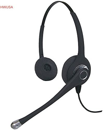 popular Smith Corona Ultra Binaural, PLT Compatible high quality QD Headset to 2.5MM Coil Cord, Smith Corona Ultra Binaural Headset with popular Cord sale