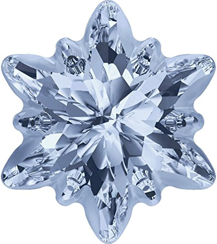 Swarovski Crystals 5123720 Fancy Stones 4753 G MM 14,0 CRYSTAL BL.SHADE F, 36 Pieces