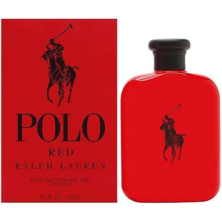 Ralph Lauren Polo Red Eau De Toilette Spray For Men 4 2 Ounce Polo Red Cologne Beauty