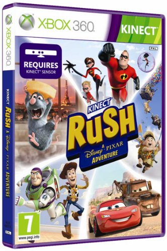 Microsoft Kinect Rush: A Disney Pixar Adventure, Xbox 360 - Juego (Xbox 360, Xbox 360, Acción / Aventura, Asobo Studio, 23/03/2012, E (para todos), ENG)