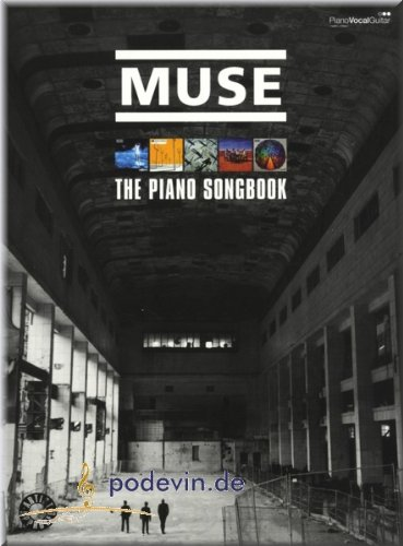 Muse - The Piano Songbook - Noten Songbook Klavier, Gesang & Gitarre [Musiknoten]