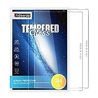 【2枚入り】Adeway 保護フィルム 対応Surface Pro 7 Plus/Surface Pro 7 (12.3 インチ),HDガラス,9H強化ガラス, 優れた感度 強化ガラス 保護フィルム