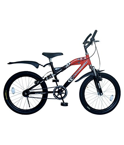 Hero Foxx 20T Single Speed Kids' Bike (Red, Ideal For : 7 to 9 Years )