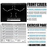 Zoom IMG-2 Workout Log Gym Wire Bound