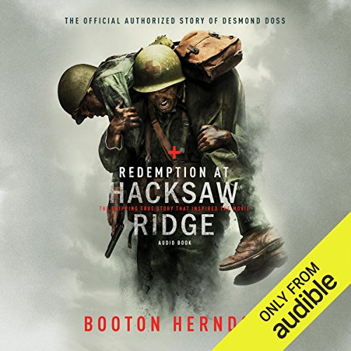 Redemption at Hacksaw Ridge audiobook cover art