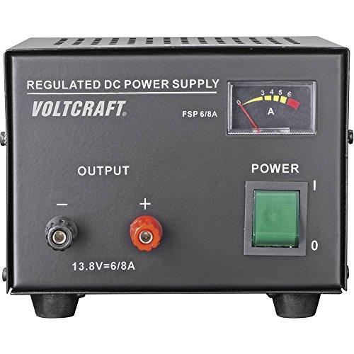 Voltcraft FSP-1136 Labornetzgerät, Festspannung 13.8 V/DC 6 A 85 W Anzahl Ausgänge 1 x