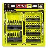 Ryobi RAK48SDI - Set di 48 punte per cacciavite a percussion