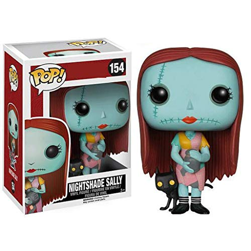 Funko Pop Movies : The Nightmare Before Christmas : Nightshade Sally 3.75inch Vinyl Gift for Anime Fans SuperCollection