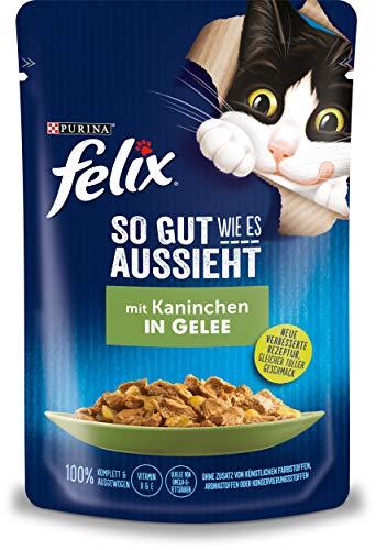 Felix natte kattenvoering, zo goed als het eruit multipack, 24 x 85 g