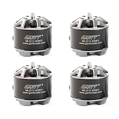 GARTT 4PC ML2212 920KV Brushless Motor For FPV Drone Quadcopter Multicopter