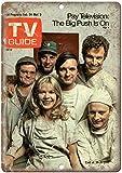 ABLERTRADE Retro Schild Mash TV Show TV Guide Cover Werbung