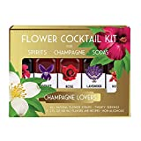 Floral Elixir Co. Holiday Cocktail Kit for Champagne Lovers