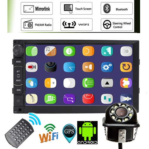 Great Price! NWE Version 2DIN Car Radio Stereo Android 7.1 System Support GPS Navigation Function Mi...
