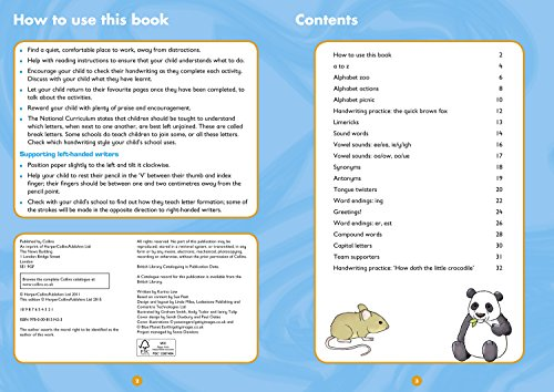 Handwriting Ages 7-9: Ideal for Home Learning (Collins Easy Learning KS2)