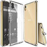 Ringke Fusion Compatible with Xperia Z5 Case, Transparent