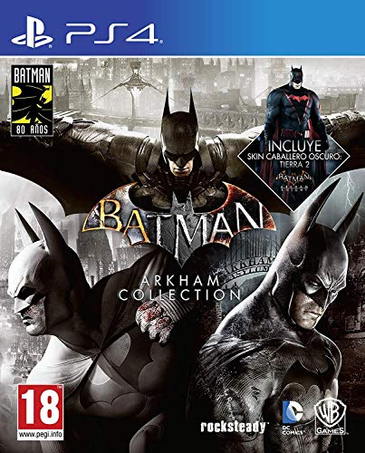 Batman: Arkham Collection - Edicion Exclusiva Amazon (Incluye steelbook y skin de caballero oscuro)