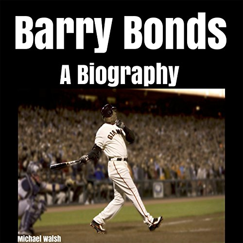 Barry Bonds audiobook cover art