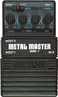 Arion SMM-1 STEREO METAL MASTER DISTORTION PEDAL