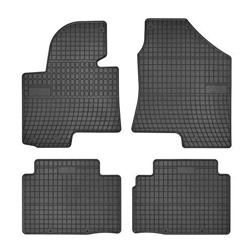 DBS Tapis de Voiture - sur Mesure pour IX35 (2009-2015) - 4 pièces - Tapis de Sol antidérapant pour Automobile - Souple - 100% Caoutchouc