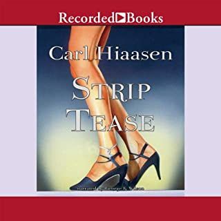 Strip Tease audiobook cover art