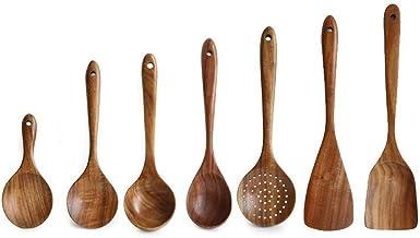 Cooking Utensils Set Utensil Set Kitchenware Set Kitchen Supplies Wooden Spoon Shovel Colander Combination Long Handle Coo...