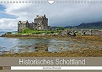 Historisches Schottland (Wandkalender 2022 DIN A4 quer): Eine Reise in die schottische Vergangenheit mit wunderschoenen Fotografien von Castles und Cathedrals (Monatskalender, 14 Seiten )