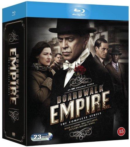 Boardwalk Empire - The Complete Season 1-5 [Blu-ray] Nordic Import [Region Free]