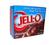 Jell-O Chocolate Flavor Sugar Free Instant Pudding & Pie Filling (4-Pack)