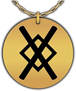 Hot Fresh And Funny Gungnir Necklace | Spear of Odin, Viking Symbol - Norse Pendant for Men, Gold-Plated
