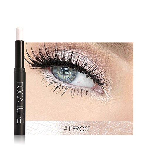 12 Colores Sombra de Ojos Lápiz de Larga Duración Maquillaje Pluma Herramienta Cosmética(#1)