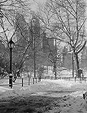 USA New York City Manhattan Central Park winter Poster