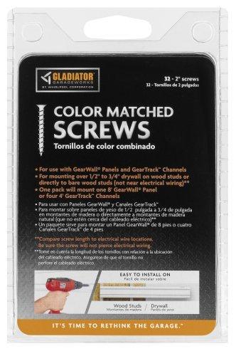 Gladiator GarageWorks GAAC0232RY Color-Matched Screws, 32-Pack Model: GAAC0232RY Tools & Home Improvement