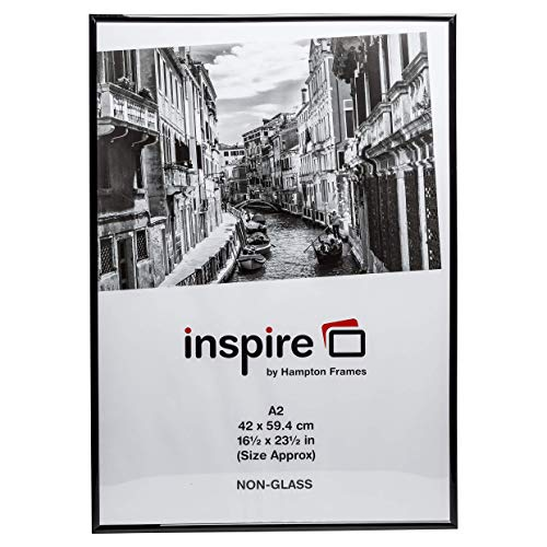 Cadre photo format A2 The Photo Album Company -42x 59cm - Noir - A2MARBL