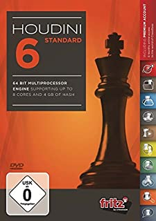 Houdini 6 Chess Standard Edition (PC-DVD