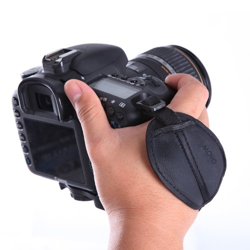 Movo Photo HSG-4 SecureMe Padded Grip Strap for DSLR Cameras - Prevents droppage and stabilizes Video