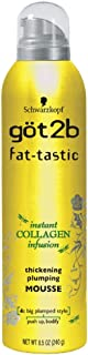got2b fat-tastic Instant Collagen Infusion Mousse 8.50 oz ( Pack of 3)
