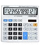 SaleOn Financial and Business Office Calculator with Large LCD Display and Acrylic Protected Mirror...