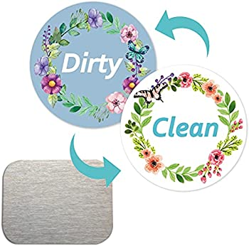 ZOWIE KING Dirty Clean Dishwasher Magnet Sign (Garland)