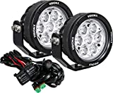 Vision X Lighting CG2-CPM710KIT CG2 Light Cannon Series 4.7' 7 LED Light (Pair/Including Harness Using DT Connectors)