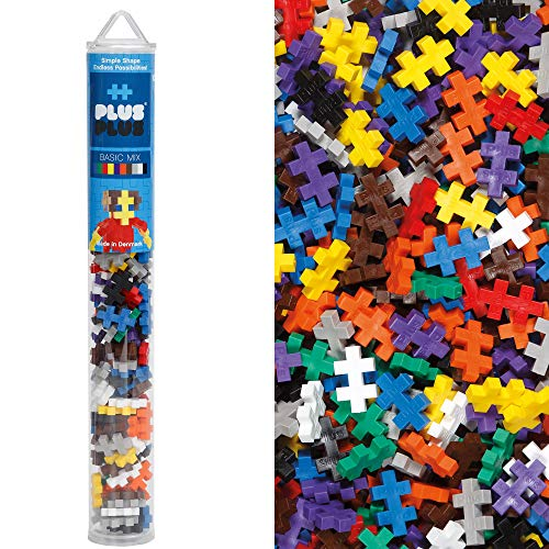 Plus-Plus 52227 - Bausteine Mini Basis Mix, 100 Stück