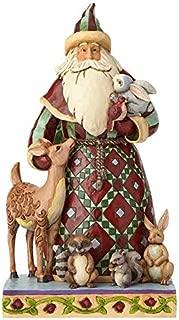 Enesco Jim Shore Heartwood Creek Santa with Woodland Animals Figurine