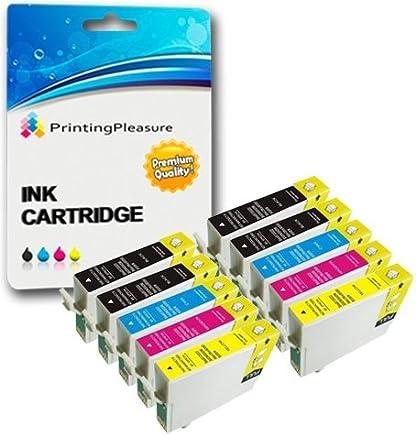 10 XL Compatibili T1281-T1284 (T1285) Cartucce d'inchiostro per Epson Stylus S22 SX125 SX130 SX230 SX235W SX420W SX425W SX430W SX435W SX438W SX440W SX445W Office BX305F BX305FW Plus - Alta Capacità