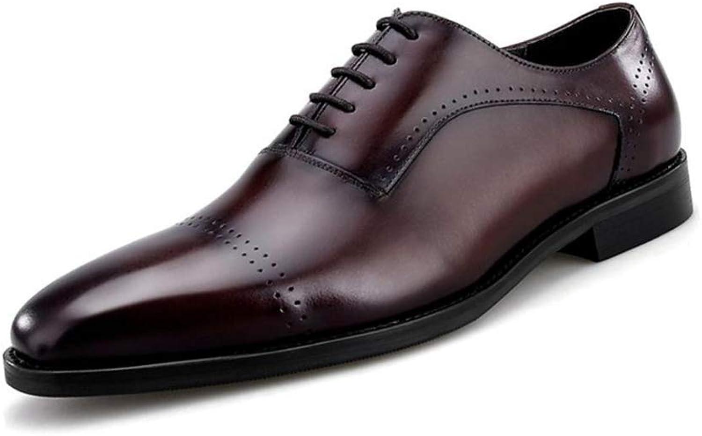 HhGold Herrenschuhe Leder Frühjahr/Herbst Komfort/Wies Toe Oxfords/Wanderschuhe Schwarz/Formale Schuhe/Business Schuhe Schuhe Schuhe (Farbe : B, Größe : 40) (Farbe : B, Größe : 41) B07MTCR8ZV  fd4f6d