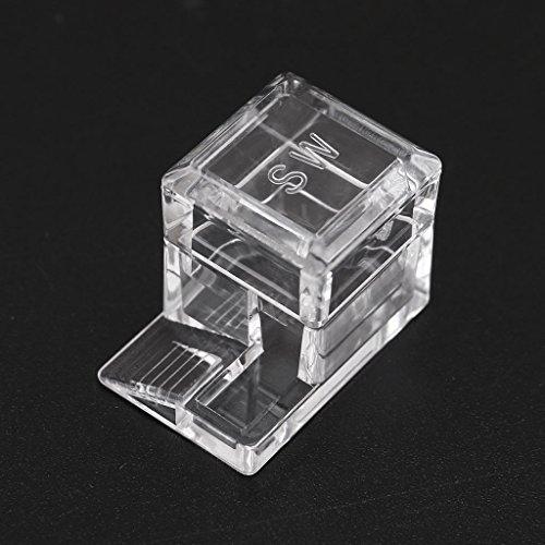 yaonow Sequare Design Mangeoire à fourmis pour nids d'insectes