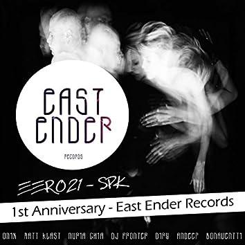 SPK Remixes / 1st Anniversary of East Ender Records (feat. DJ Fronter, Diry, Matt Klast, Federico Vieco, Nuria Ghia, Bonaventti, Festo)
